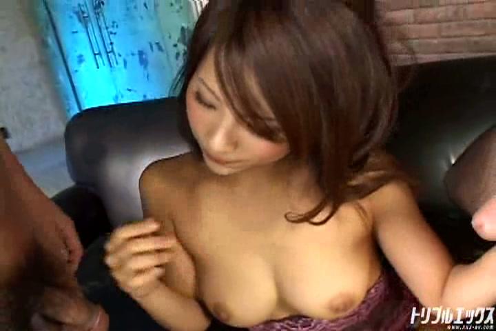 ゴージャス系美巨乳お姉さんと中出し2連続3PSEX!!