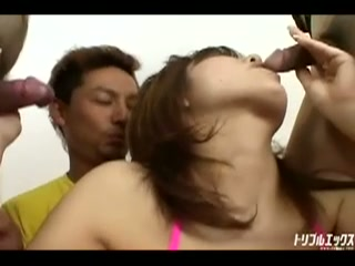 爆乳Iカップに貪りつく男達!! 完全版